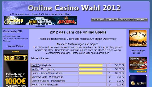 online casino sieger