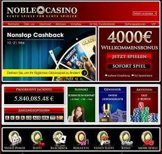 noble casino bewertung
