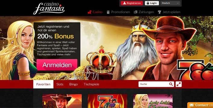fantasia novoline casino