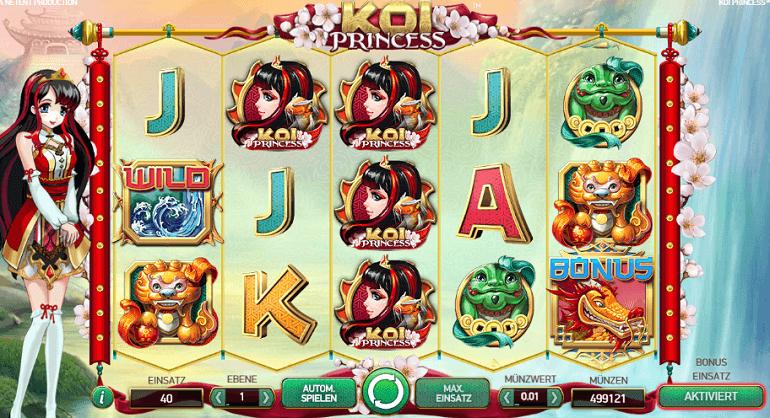 Koi Princess Roulette Online Casino Promotion