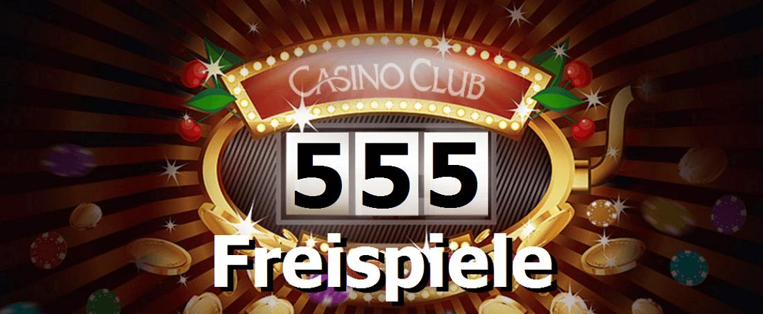 Freispiele im Casino Club gratis