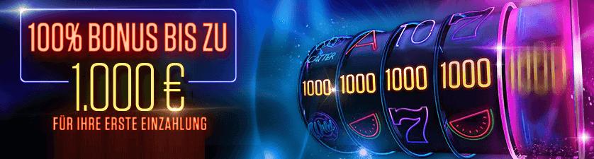 Netbet 1.000 € Willkommens Bonus