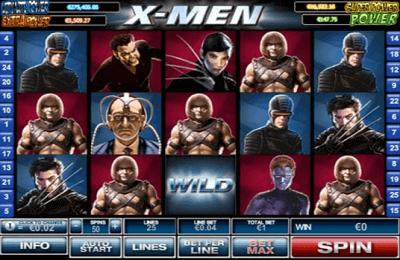 XMen Online Slot