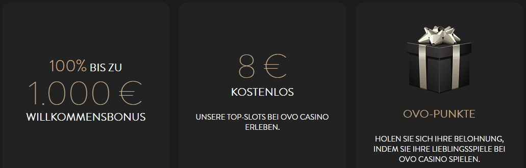Ovo Casino Gratis