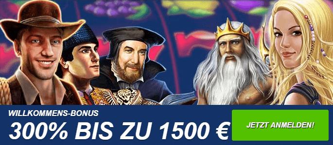 Ares Casino Willkommens Bonus
