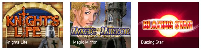 Merkur-Spieleangebot Casino Club