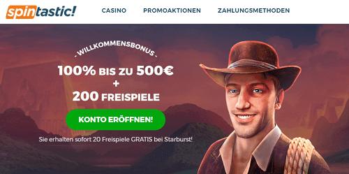 Spintastic Casino Erfahrung