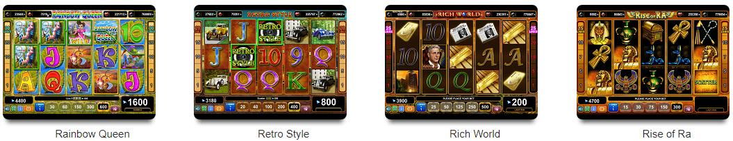 EGT Spiele OVO Casino