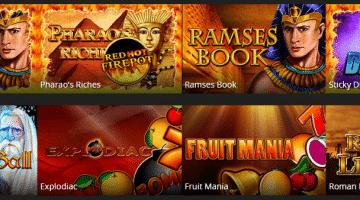 Energy Casino – Top Spiele von Gamomat, NetEnt und Quickfire