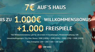 LVbet Casino – 1000€ Bonus, 1000 Freispiele mit Play´n Go und Gamomat
