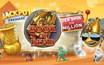 Book of Dead Online Jackpot