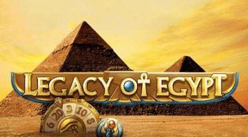 Legacy of Egypt Playn'Go