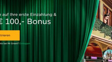 Mr Green feiert 10 jähriges im Wert von 200.000 Euro