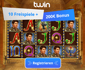 10 Freispiele Book of Dead + 200€ Bonus
