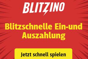 Blitzino Pay N Play Casino schnelle Zahlungen