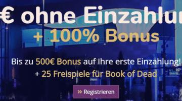 Lord Lucky Casino 5€ ohne Einzahlung + 25 Freispiele + Bonus