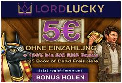 lordlucky 5 ohne einzahlung