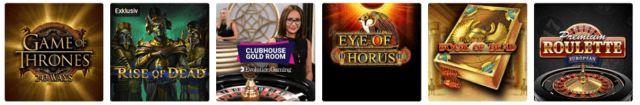 Party Casino Spielautomaten Angebot