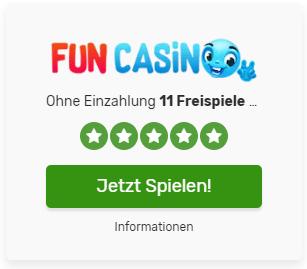 Fun Casino Freispiele plus gratis Bonus