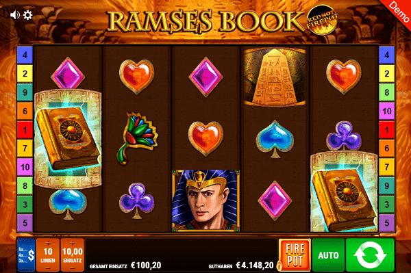 Ramses Book Gamomat Bally Wulff