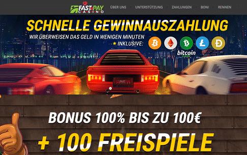 Schnelle Gewinnauszahlung Fastpay Casino