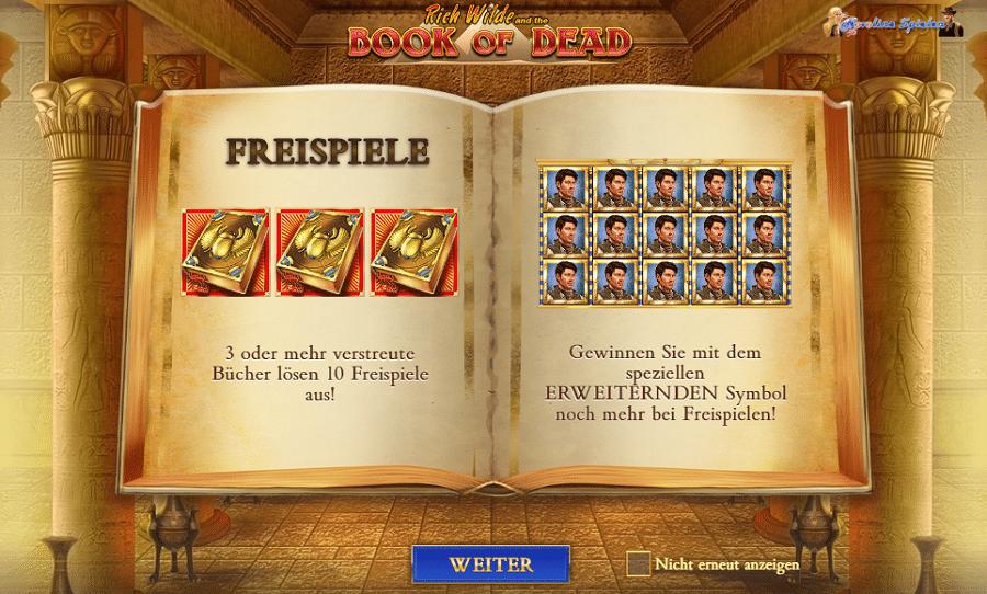 Book of Dead kostenlos ohne Anmeldung