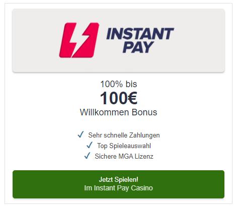 Instant Pay Spielen