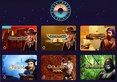 Ocean Breeze Casino Spielautomaten