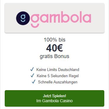 Gambola Casino - Jetzt Bonus erhalten