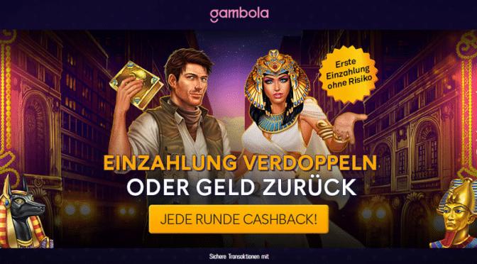 Gambola Casino - Spielen ohne Risiko