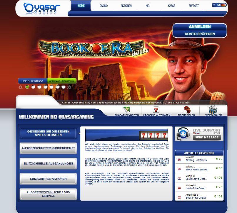 Online Casino des Monats