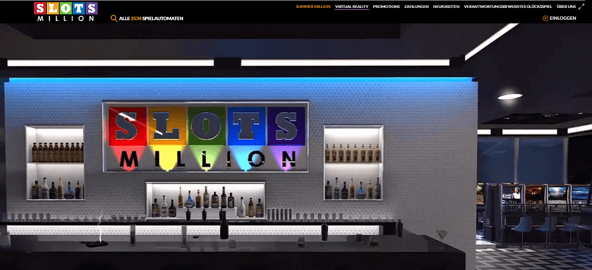 Slotsmillion Virtual Reality Casino