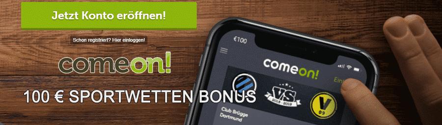 Comeon Slots - Sportwetten und Mobile Casino