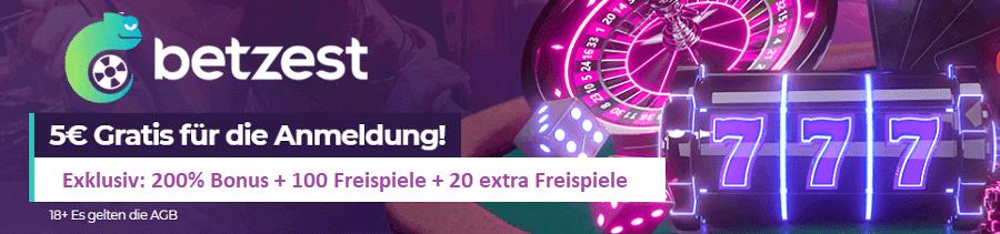 Betzest-Casino-Bonus-ohne-Einzahlung-plus-Freispiele