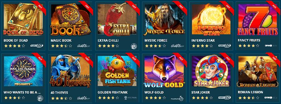 Platin Casino Spielautomaten