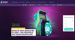 Betzest Casino 200% Playworld Angebot