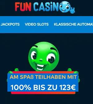 Fun Casino Neukunden Bonus