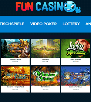 Fun Casino Spielautomaten