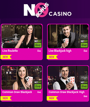 No Bonus Casino Live Spiele