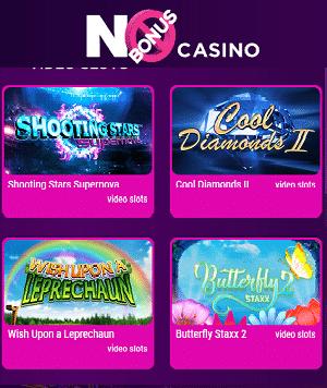 No Bonus Casino Spielautomaten