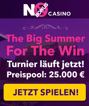 No Bonus Casino Turniere