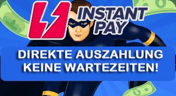 Instant Pay Auszahlungen