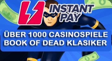 Instant Pay Casino Spielautomaten