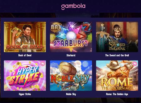 Gambola Spielautomaten