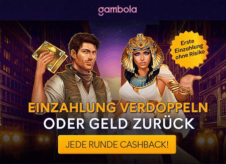 Gambola Willkommen Bonus