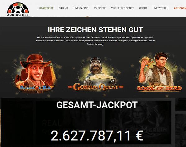 Zodiac-Casino-Novomatic-Spiele