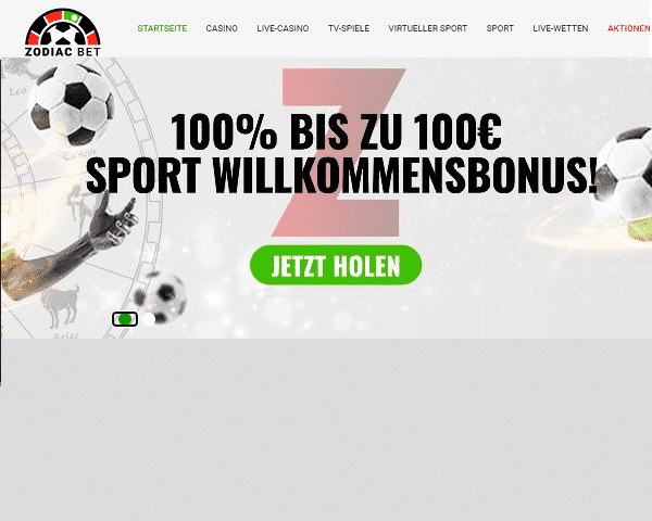 Zodiac-Casino-Sportwetten