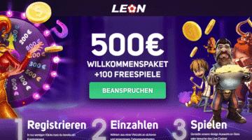 Casino Leon.bet bietet rundum Service in Deutschland
