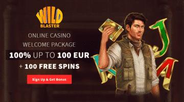 WildBlaster Casino Erfahrung Bonus zum anfassen